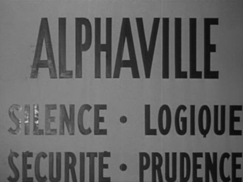 Alphaville de Godard